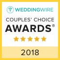 Wedding Wire Couple's choice Award 2018